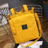 2017 Wholesale Ladies Reusable Women Canvas Shopping Bags Shoulder Cotton Folding Tote Fabric Convenience Eco Grocery Handbag