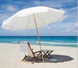 Folding Wooden Beach Sun Umbrella