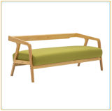 Couch Chair Sofa Chair with Dual Wooden Support Pillow Offered