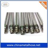 High Quality Stainless Steel 304/321/316L Flexible Metal Hose Pipe with Braiding