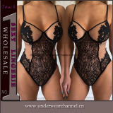 Wholesale One Piece Teddy Lace Underwear Sexy Lingerie (TFQQ0979)