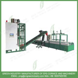 Automatic Wet Mortar Cement Mortar Mixer Foam Coating Machine for EPS Crown Moulding