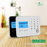 LCD Touch Keypad Wireless GSM and PSTN Home Burglar Security Alarm with Ios and Android APP