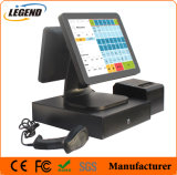 15 Inch Touch Screen Window POS System with 12 Inch Customer Display