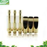 Gold and Silver Pyrex Glass 1.0ml Cbd Oil Cartridge, Bud Clearomizer
