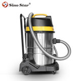 Sino Star Band Industrial Dust Extractor Industrial HEPA Vacuum Cleaner 70L Bag or Bagless, Long Hose All Accessories