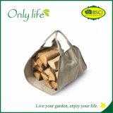 Onlylife Canvas/Oxford Firewood Carrier Garden Tool Bag