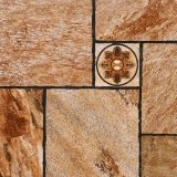 Brown Color Ceramic Floor Tiles, Floor Tiles for Outdoor Square