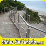 Strong Quality Stainless Steel Seaside Guardrail