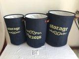 Customized Foldable Fabric Storage Basket for Laundary