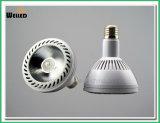 Narrow Angle 10 Degree 10W PAR30 LED Light E27 LED PAR Lights with High CRI 80ra 90ra