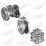Stainless Steel Ball Valve Flanged/Threaded/Welded in Stock