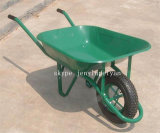 Heavy Load Yellow Mobile Garden Barrow Cart Wb6400
