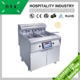 2 Tanks Electric Fryer with 4 Baskets (Computer Version)