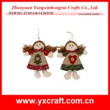 Christmas Decoration (ZY16Y134-3-4 20.5CM) Christmas Smile Angel Christmas Bunting
