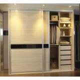 E1 Grade Sliding Door MDF Bedroom Wardrobe (S-08)