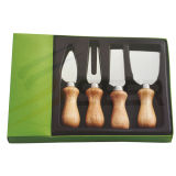 4PCS Knives Set Cheese Knife and Pizza Knife (SE-K196)
