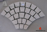 G682 Yellow Granite Paving Stone with Fan Shape