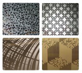 Gold Color Etch Design Stainless Steel Factory Price