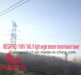 Megatro 110kv 1A8 J1 Light Angle Tension Transmission Tower
