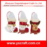 Christmas Decoration (ZY16Y113-1-2-3 19CM) Christmas China Handicraft Best Selling Christmas Gifts