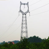 110kv Angle Linear Steel Power Transmission Tower (Owl-shaped)