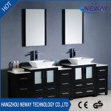 New Floor Standing Waterproof Spanish Bathroom Vanity with Double Basin
