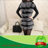 Luxury Winter Warm Rabbit Fur Wowen Coat
