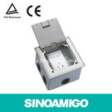 Open Type Sop Stainless Hinged Floor Outlet Boxes