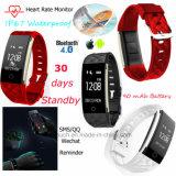 IP67 Waterproof Bluetooth Smart Bracelet with Heart Rate Monitor S2