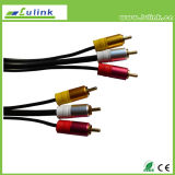 3 RCA to 3 RCA Male to Male Cable/Computer Cable