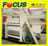 Lower Price Pneumatic Discharging Js1000 Double Shaft Concrete Mixer