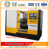 Precision Flated Mini Slant Bed Horizontal Metal Machining Small CNC Turning Lathe