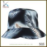 Custom Leaf Printing Blank Tie Dye Sports Bucket Hat