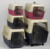 Fashion Portable Large Flight PP Pet Carrier
