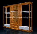Wooden Slatwall for The Retail Garment Shop, Wall Unit