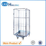 Collapsible Roll Pallet Cage Container