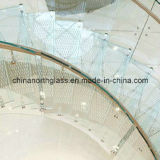 15mm Clear Skidproof Tempered Glass Flooring