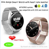 Ultra Slim Design Bluetooth 4.0 Smart Watch with Heart Rate Monitor (K78H)