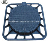 Cast Iron 850X850 D400 Manhole Cover with Square Frame
