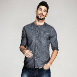 OEM Italian Shirts Black Long Sleeve Formal Shirt