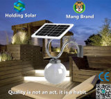 Solar LED Outdoor Light with Monocrystal Panel for Saving Energy