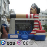 Coco Water Design Pirate Inflatable Jumping Bouncer for Kid Playing