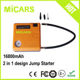 Portable Car Battery Starter Slim Mini Jump Starter with Air Compressor