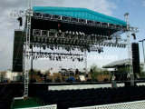 Aluminum LED Display Truss, Stage Lighting Truss Stand, Spigot or Bolt Roof Concert Truss System