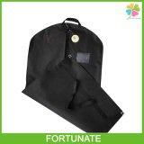 Black Non Woven Wedding Dress Garment Bag
