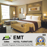 Hot Chinese Modern Hotel Wooden Bedroom Furniture (EMT-B1203)