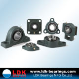 Solid Base Pillow Block Bearing with 1 Inch Bore