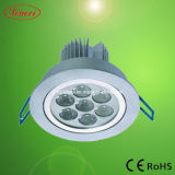 7*1W LED SMD Chip Ceiling Lamps