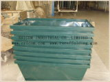 Powder Coated Scaffolding Metal Motar Boxes Usde in Contrustion